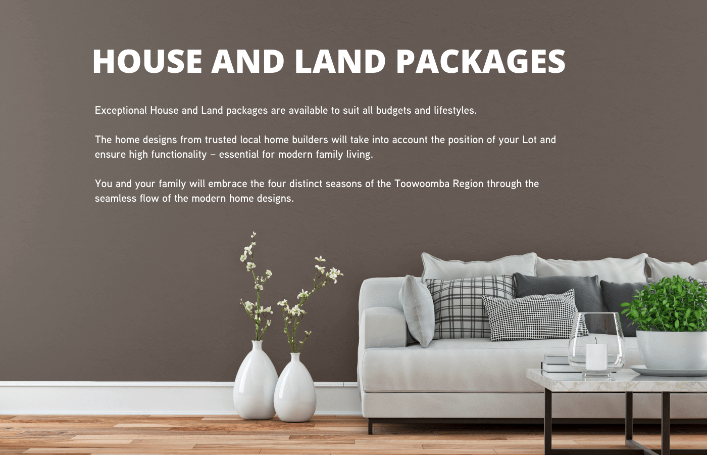 Toowoomba House and Land Packages
